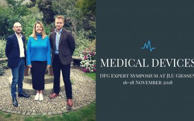 Ameliot co-hosts Medical Devices – DFG Expert Symposium at JLU Giessen