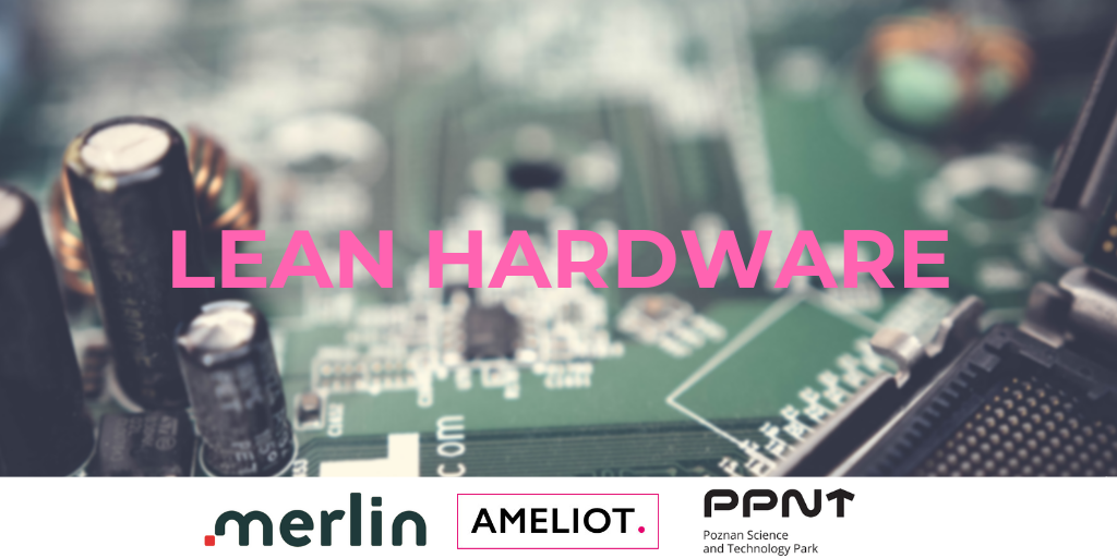 Ameliot to give a talk on Lean Hardware at Berlin's Smart Data Forum on 25 September 2019