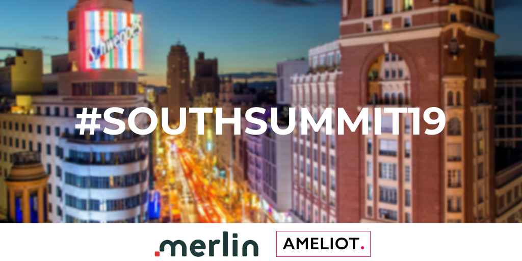 Ameliot joins the MERLIN project at the South Summit in Madrid on 2-4 October 2019